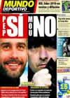 Portada Mundo Deportivo del 26 de Enero de 2011