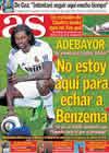Portada diario AS del 28 de Enero de 2011