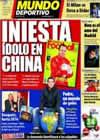 Portada Mundo Deportivo del 28 de Enero de 2011