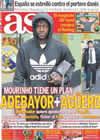 Portada diario AS del 29 de Enero de 2011
