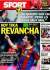 Portada diario Sport del 29 de Enero de 2011