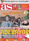 Portada diario AS del 30 de Enero de 2011