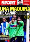 Portada diario Sport del 30 de Enero de 2011