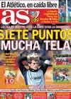 Portada diario AS del 31 de Enero de 2011
