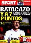 Portada diario Sport del 31 de Enero de 2011