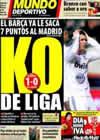 Portada Mundo Deportivo del 31 de Enero de 2011