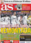 Portada diario AS del 1 de Febrero de 2011
