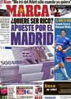 Portada diario Marca del 1 de Febrero de 2011