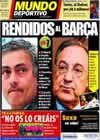 Portada Mundo Deportivo del 1 de Febrero de 2011
