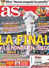 Portada diario AS del 2 de Febrero de 2011