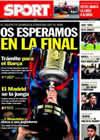 Portada diario Sport del 2 de Febrero de 2011