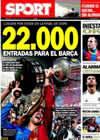 Portada diario Sport del 4 de Febrero de 2011