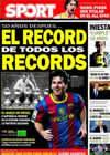 Portada diario Sport del 5 de Febrero de 2011