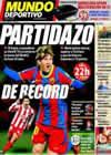 Portada Mundo Deportivo del 5 de Febrero de 2011