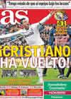 Portada diario AS del 7 de Febrero de 2011