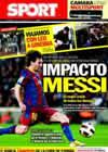 Portada diario Sport del 7 de Febrero de 2011