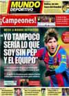 Portada Mundo Deportivo del 7 de Febrero de 2011