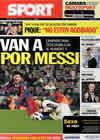 Portada diario Sport del 8 de Febrero de 2011