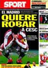 Portada diario Sport del 10 de Febrero de 2011