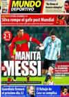 Portada Mundo Deportivo del 10 de Febrero de 2011