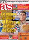 Portada diario AS del 11 de Febrero de 2011