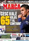 Portada diario Marca del 12 de Febrero de 2011