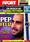 Portada diario Sport del 12 de Febrero de 2011