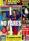 Portada Mundo Deportivo del 12 de Febrero de 2011