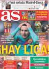 Portada diario AS del 13 de Febrero de 2011