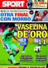 Portada diario Sport del 13 de Febrero de 2011