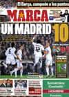 Portada diario Marca del 14 de Febrero de 2011