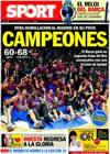 Portada diario Sport del 14 de Febrero de 2011