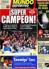Portada Mundo Deportivo del 14 de Febrero de 2011