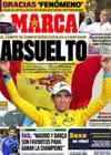 Portada diario Marca del 15 de Febrero de 2011