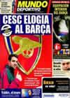 Portada Mundo Deportivo del 15 de Febrero de 2011