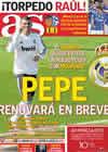 Portada diario AS del 16 de Febrero de 2011