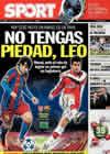 Portada diario Sport del 16 de Febrero de 2011