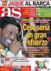 Portada diario AS del 17 de Febrero de 2011