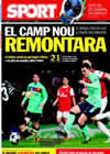 Portada diario Sport del 17 de Febrero de 2011