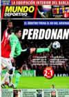 Portada Mundo Deportivo del 17 de Febrero de 2011