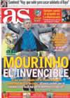 Portada diario AS del 19 de Febrero de 2011