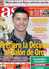 Portada diario AS del 21 de Febrero de 2011