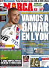Portada diario Marca del 21 de Febrero de 2011