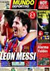 Portada Mundo Deportivo del 21 de Febrero de 2011