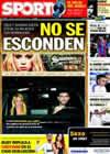 Portada diario Sport del 22 de Febrero de 2011