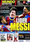 Portada Mundo Deportivo del 22 de Febrero de 2011