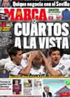 Portada diario Marca del 23 de Febrero de 2011