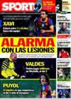 Portada diario Sport del 23 de Febrero de 2011