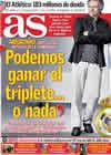 Portada diario AS del 24 de Febrero de 2011