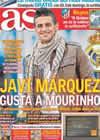 Portada diario AS del 25 de Febrero de 2011